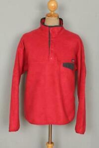 Mens PATAGONIA Pullover Fleece Windbreaker Jacket Large