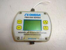 OMEGA FMA1000 AIR VELOCITY/TEMPERATURE TRANSMITTER/INDICATOR FMA1002R-MA-S