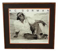 RC GORMAN CANYON DE CHELLY POSTER PRINT SIGNED BY PHOTOGRAPHER CHUCK HENNINGSEN
