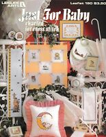 Just For Baby Charted Cross Stitch   Leisure Arts 190