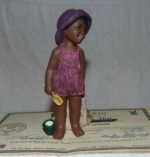 All God's Children Miss Martha Originals CHERI Playing in Sand #11 1993 COA