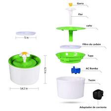 Fuente de Agua Automática Eléctrica Filtro de Agua Para Mascotas Gato Perro 220V