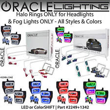 ORACLE Halo Kit for Headlights&Fog Lights for 08-10 Ford F250 F350 F450 *Colors