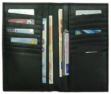 Portafoglio-Wallet  verticale CALVIN KLEIN mod: D02S03G Long Wallet - Nero