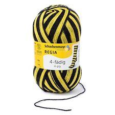 Regia Stadion Color 5391 Schwarz-gelb