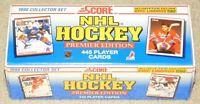 1990 SCORE NHL HOCKEY COMPLETE FACTORY SEALED SET + 5 ERIC LINDROS BONUS CARDS