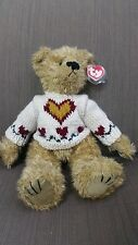 """Ty Attic Treasures Collection """"Heartly"""" New With Tag 1993 12"""" Bear"""