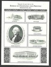 1981 Bep Souvenir - B52 - Washington & other vignettes - Mint