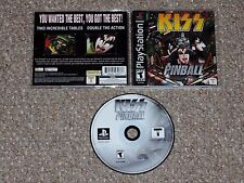 Kiss Pinball Sony PlayStation Complete