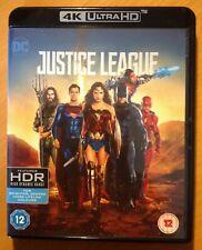 JUSTICE LEAGUE (4K UHD Blu-ray) 2-Disc. DCU