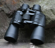 10x50 Folding High Powered Binoculars With Night Vision Clear Great Watching