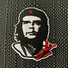 2Pc Freedom Fighter Che guevara patch révolutionnaire Iron On Applique Brodé
