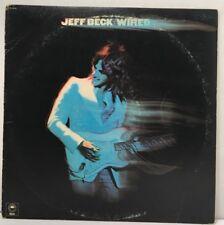 "Jeff Beck ""Wired"" 12"" LP Vinyl Record Album Epic 1976 PE 33849 VG"