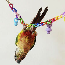 Pet Birds Bites Toy Parrot Swing Cage Chew Toy Suspension Bridge Climbing Rope