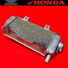 2005 Honda CRF450 R OEM Radiator Right Side Fill Aluminum 19010-MEN-730
