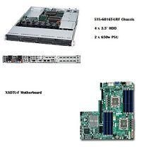 """Supermicro 1U SYS-6016T-NTRF 12 Cores, 24GB RAM, 4 x 3.5"""" HDD Bay, IPMI"""