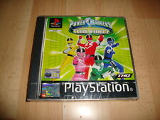 POWER RANGERS TIME FORCE BY THQ FOR SONY PS1 UK VERSION NEW FACTORY SEALED
