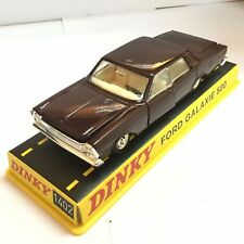 DEFECT Atlas 1:43 scale DINKY 1402 FORD GALAXIE 500 BLACK CAR MODEL FOR BEST