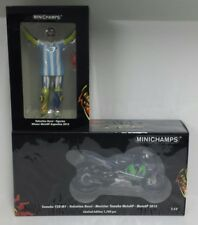 MINICHAMPS VALENTINO ROSSI 1/12 SET MODEL YAMAHA + FIGURE GP ARGENTINA 2015