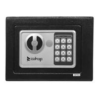 "9"" Mini Digital Electronic Safe Box Keypad Lock Wall Home Office Hotel Gun Black"
