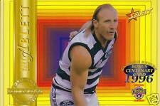 AFL - 1996 Select Classic 'Future Hall of Fame' Jumbo Case Card Set (10) #NEW