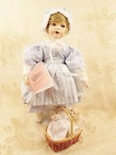 Paradise Galleries Phyllis Wright Musical Hush Little Baby Lullaby Melanie Doll