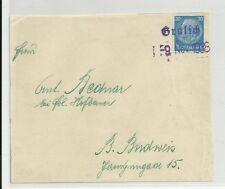 Sudetenland Notstempel Grulich mit 521 EF (D4)