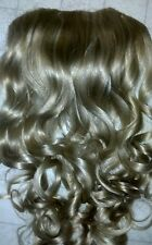NEW PAGEANT CLIP ON EXTENSION HAIR PIECE  * HAIRPIECE #24/14 FALL