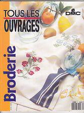 Tous les ouvrages Broderie DMC N°5 special été 1992