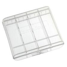 4x Praktische Aufbewahrungsbox / Akkubox für 4x AA oder 4x AAA Akkus / Batterien