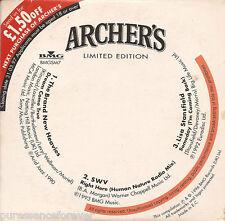 """V/A - Archer's Limited Edition EP (UK Archer's Ltd Ed 3 Tk 3"""" CD Single)"""