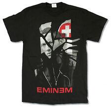"""EMINEM """"SHATTERED TOUR 2011"""" BLACK T-SHIRT NEW OFFICIAL RAP ADULT MEDIUM HIP HOP"""