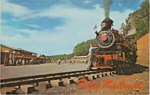 Rebel Railroad at Pigeon Forge near Gatlinburg, Tennessee, Great Smoky Mountains