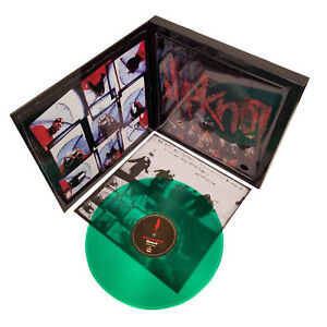 Slipknot 2009 Road Runner Records Green Vinyl LP Album Tee T-Shirt Box Set - LG