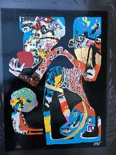 "RAE ""It's The Kids That Suffer"" Street Art Graffiti Painting Bansky Postcard"