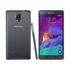 "Negro Desbloqueado Samsung Galaxy Note 4 N910T 5.7"" 32GB 16MP WIFI 4G LTE Móvile"