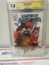 CGC 9.8 CAPTAIN AMERICA #6 SIGNED STEVE EPTING. First appearance Winter Soldier