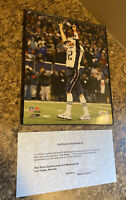 Tom Brady Signed Photograph 8x10 w/ Cert