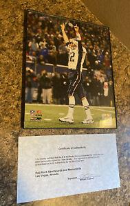Tom Brady Signed Photograph 8x10 w/ Cert