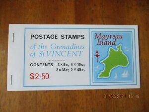 Grenadines Of St Vincent ~ Booklet ~ Mayreau Island