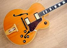1970s Gibson L-5 CES Vintage Archtop Electric Guitar Blonde w/ T Tops, Case
