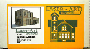 NEW N Branchline Laser-Art #891 Dan's Welding Kit