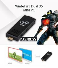 Mini PC Windows 10 with Android 4.4 Wintel W5 Intel Quad Core Dual OS Wi FI USB