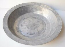 Vintage Collectible Balkan Military Army Supply Plate Hand Forged Deco Art Retro