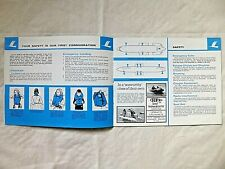 More details for laker airways safety card bac one-eleven & boeing 707 / laker in flight magazine