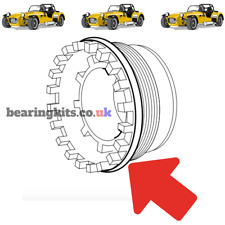 FORD SIERRA COSWORTH DIFF AXLE DIFFERENTIAL BEARING HOUSING SIDE SCREW O RINGS