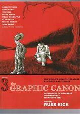 The Graphic Canon Volume 3 - Heart of Darkness Hemingway Infinite Jest Russ Kick