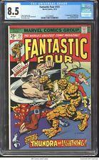 Fantastic Four #151 1974 CGC 8.5 - 1st app of Mahkizmo. Origin of Thundra.