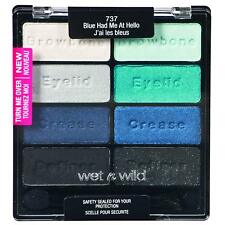 Wet n Wild Eyeshadow Palette BLUE HAD ME AT HELLO Color Icon 737 New/Sealed