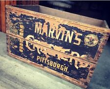 Very Rare Vtg Superior Marvin's Crackers National Biscuit Co Crate Pittsburgh Pa